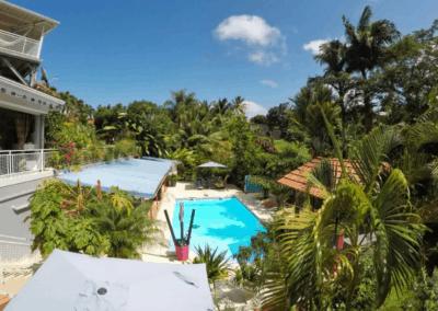 Chambre Carambole - Redoute Paradise - Chambre d'hôtes Martinique