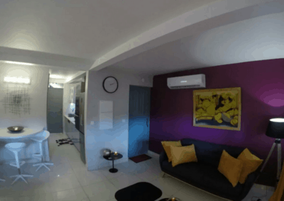 Appartement Papaye - Redoute Paradise Martinique maison d'hôtes